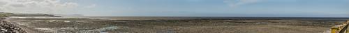 landscape somerset blue water sky panorama panoramic doniford beach 2018 may