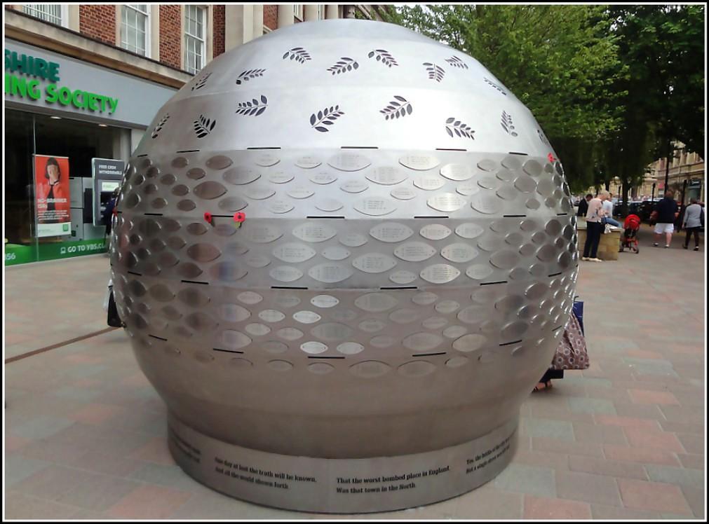 Hulls New Memorial Globe ..
