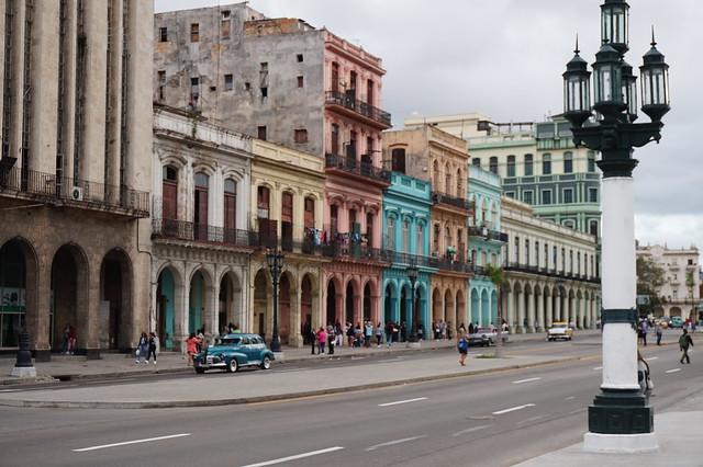Old Havana street scene, Cuba