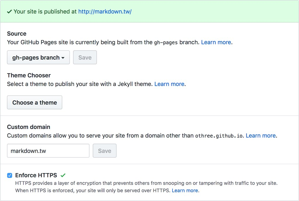 GitHub Pages | othree | Flickr