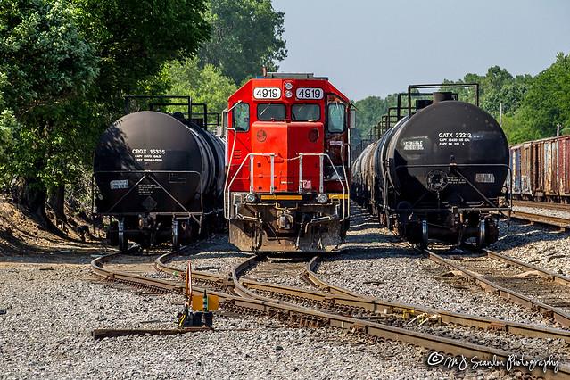 GTW 4919 | EMD GP38-2 | CN Hollywood Yard