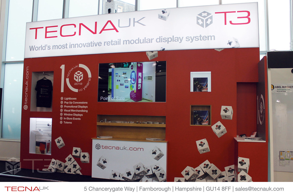 Modular Exhibition Stand Uk : Tecna uk rde18 t3 modular display system exhibition stand flickr