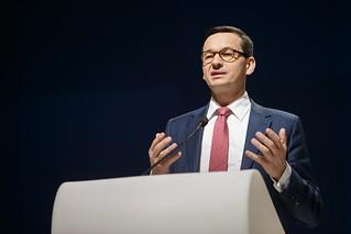 Premier Mateusz Morawiecki podczas 10. Europejskiego Kongresu Gospodarczego | by Kancelaria Premiera