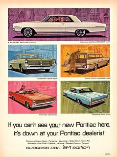 1964 Pontiac Canadian Models