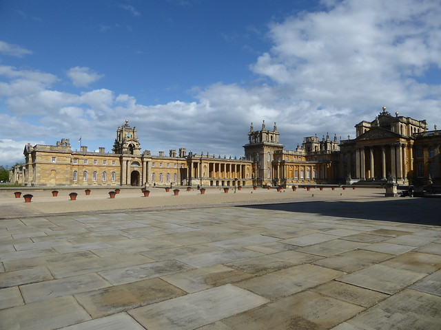 Blenheim Palace - the Great Court