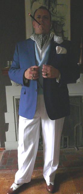 Blue DB Waistcoat 4