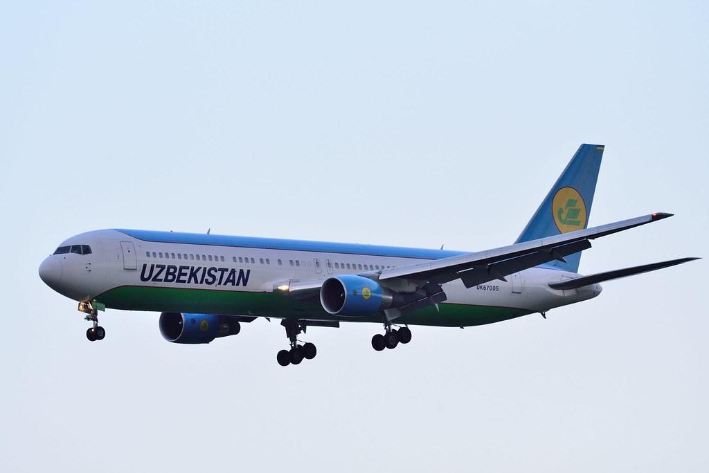 Uzbekistan Airways UK67005 B767-33P/ER