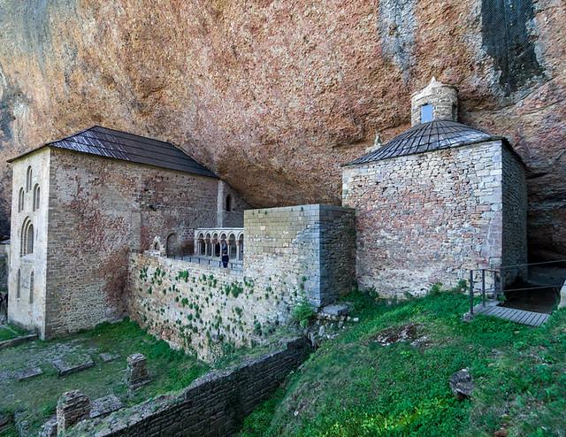 Monastère de San Juan de la Peña- Aragon