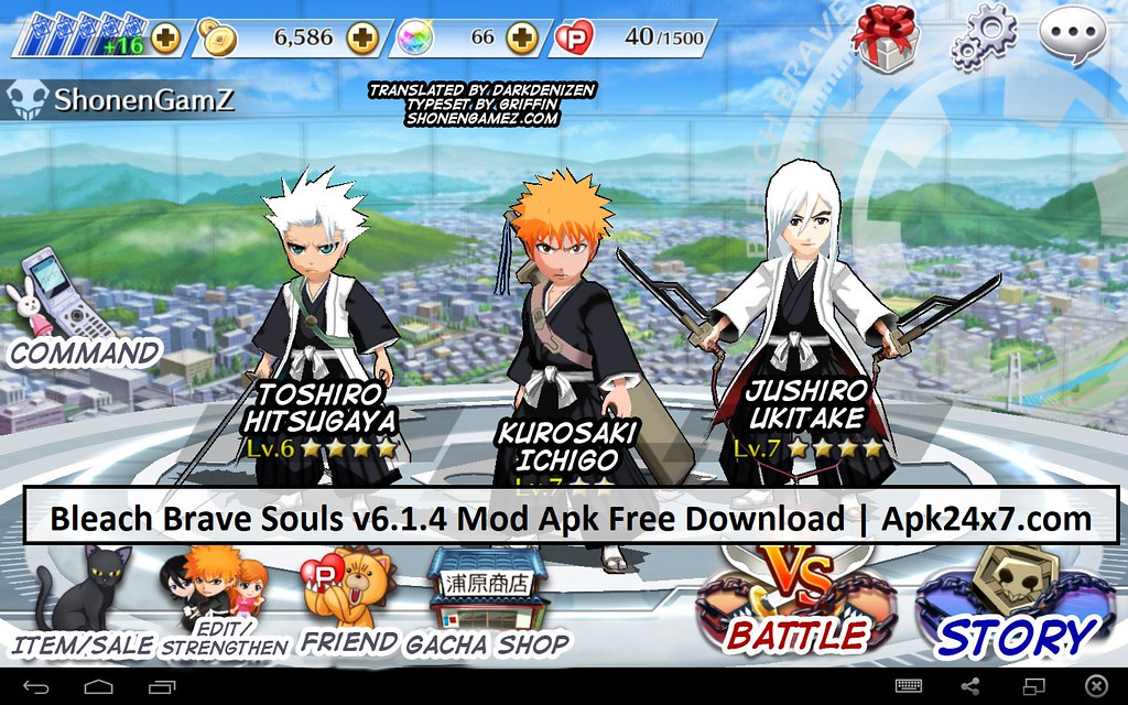 bleach brave souls unlimited orbs apk