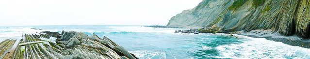 L'incroyable plage de Zumaia