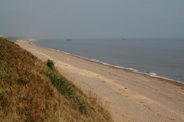 The coast near Sizewell