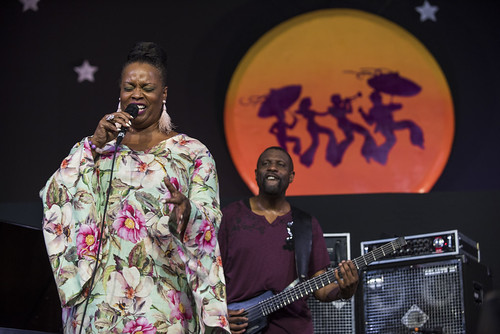 Dianne Reeves at Jazz Fest day 6 on May 5, 2018. Photo by Ryan Hodgson-Rigsbee RHRphoto.com
