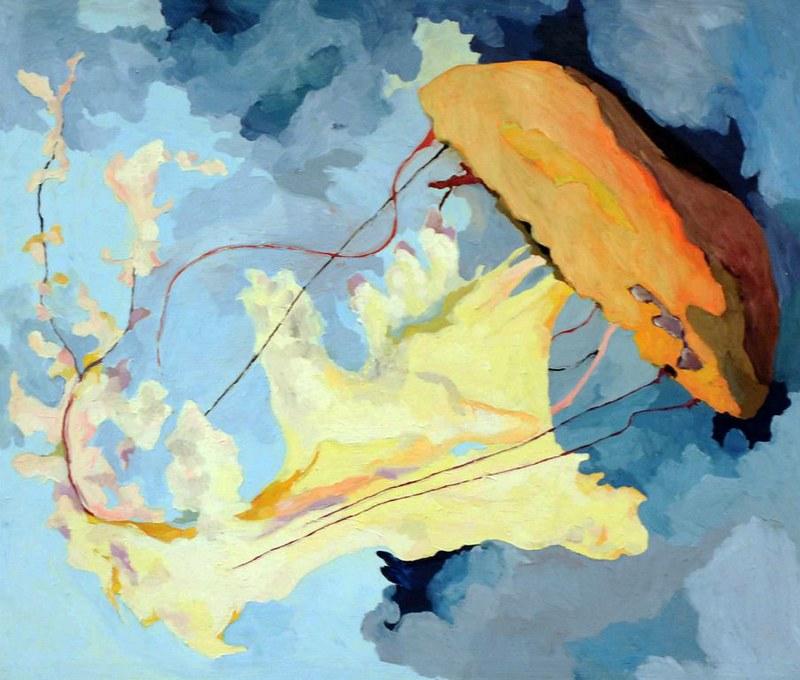 Medusa - 70x81 cm. Oil on canvas 2009