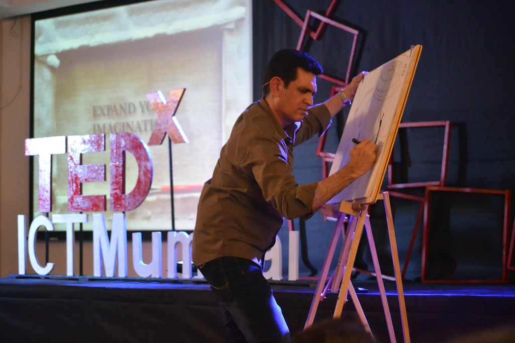 TEDx ICT Mumbai   Speaker : Omung Kumar   Dhiraj Jain   Flickr