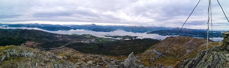 16-Panorama sørover fra Freikollen