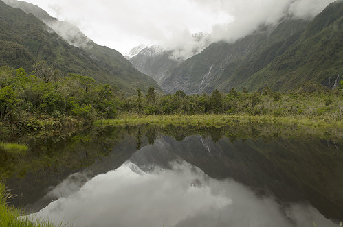 landscape nature glacier reflection snow lake travel mountain scenic tourism outdoors new forest franz josef fox beautiful cook summer pacific reflect franzjosefglacier zealand nz coast sky pond newzealand mount scene horizontal bush attraction south water ridge island horizontally plant park view nationalpark alps mirror peak scenery tree