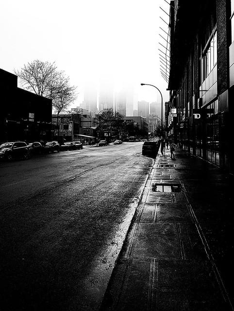 Gloomy Peel Street