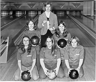 1973 - girls' bowling