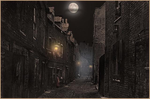 """The Victorian slums of London 1888"""