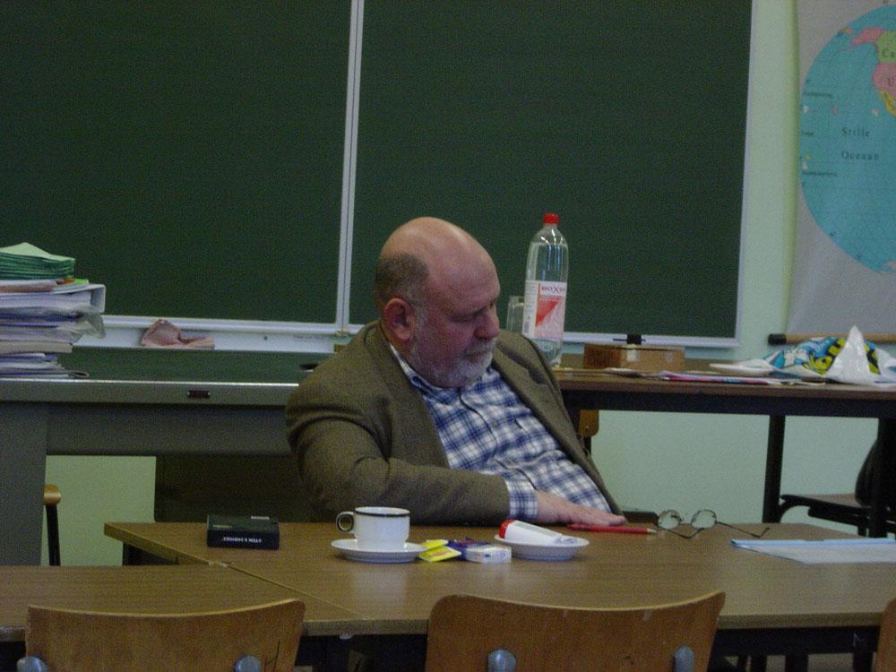 Sleeping Teacher