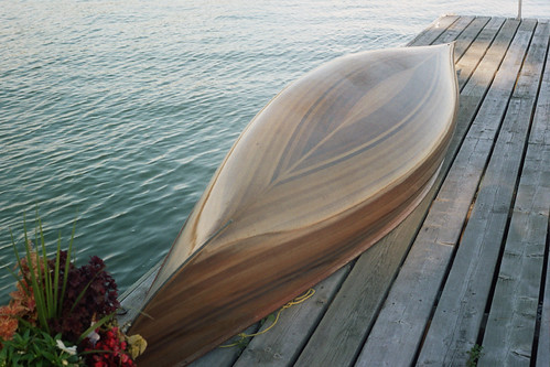 Cedar strip canoe | by fortinbras