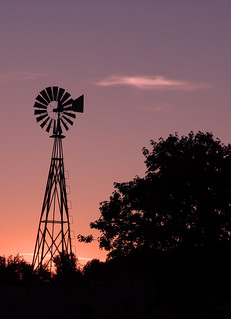 Windmill Sunset   by Bruce Foster