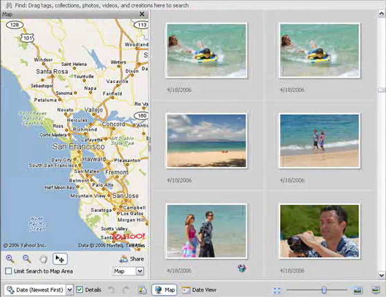 Geotagging in Adobe Photoshop Elements 5