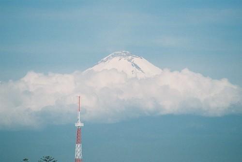 Popocatepetl peak
