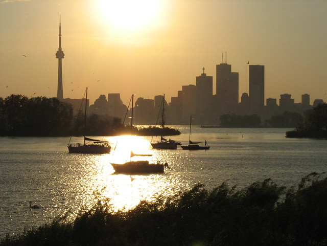 Toronto sunset