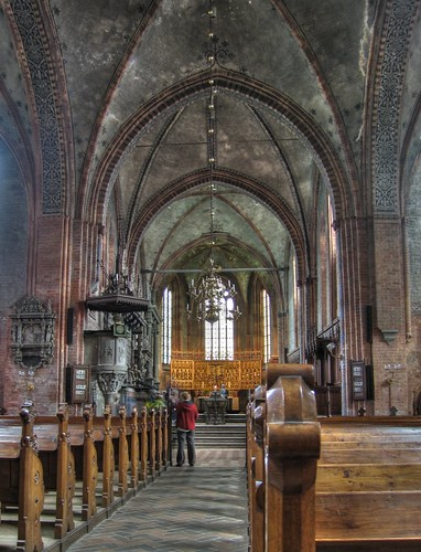HDR: Inside the Dome of Güstrow, Germany by Dirk Paessler