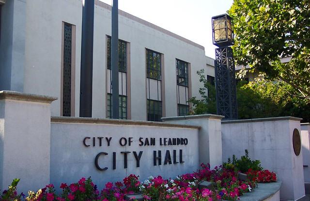 City Of San Leandro >> San Leandro City Hall San Leandro City Hall San Leandro