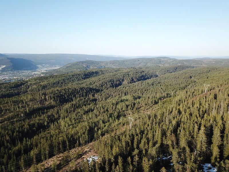 05-Utsikt fra Ertekollen (drone)