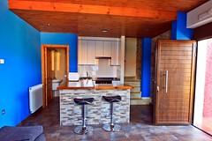 Salón-cocina. Apartamentos Alkazar