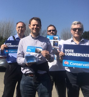 Campaigning for local elections in Coventry | by Daniel Dalton MEP