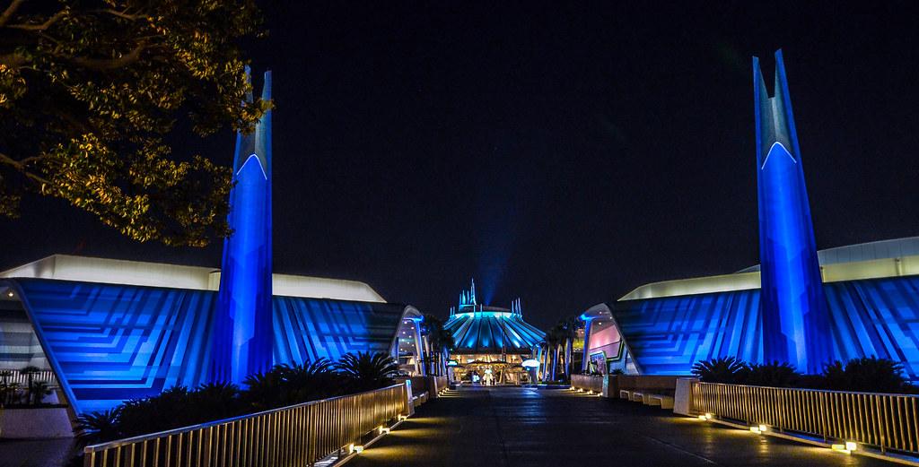 Tomorrowland blue night TDL