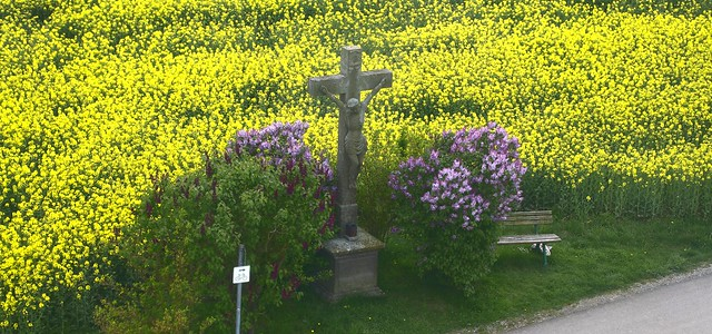 A crucifix at the wayside