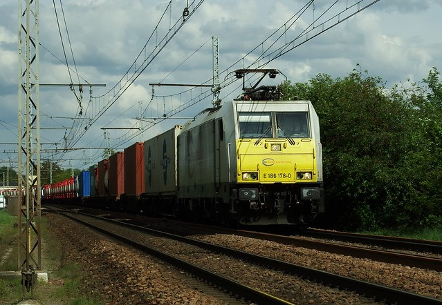 Traxx E 186 178-0 ECR Amboise (37 Indre et Loire) 01-05-18a