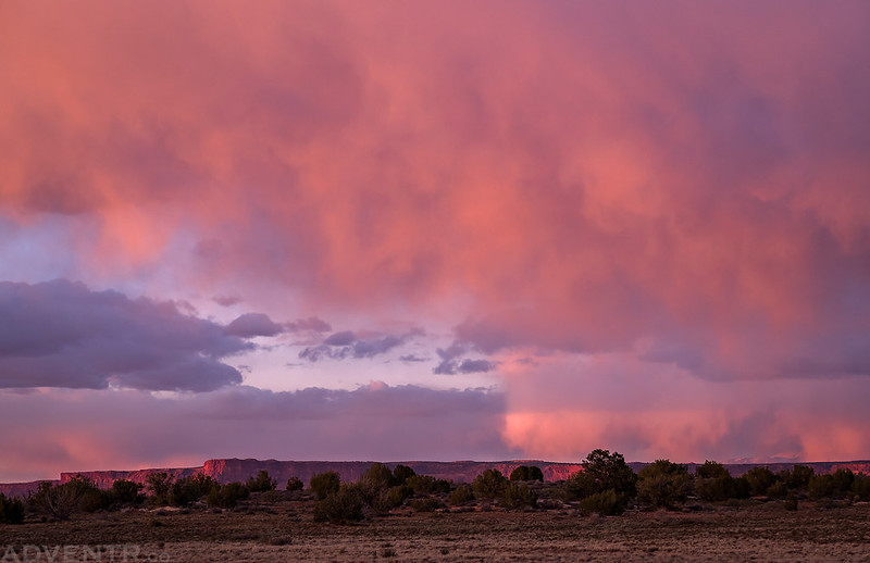 Squaw Flat Pink Clouds