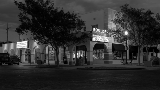 It's Quiet in Boulder City