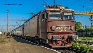 EA 335 RO-SNTFC a Depoului București Călători surprinsă în Stația CFR SUCEAVA NORD la tracțiunea trenului IR 1752 Suceava Nord - București Nord, 03.05.2018 | by mihai.nicolae24