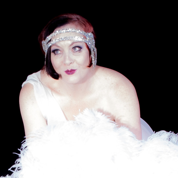 Retro 20's stylr burlesque semi nudes