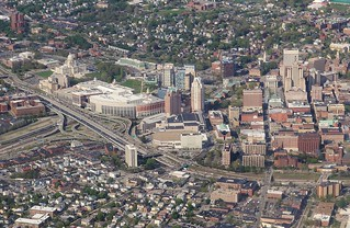 Downtown Providence RI , from the air | by Bob Symes