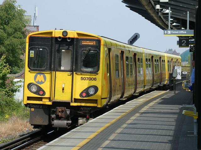 Merseyrail 507006 Sandhills 19/5/18