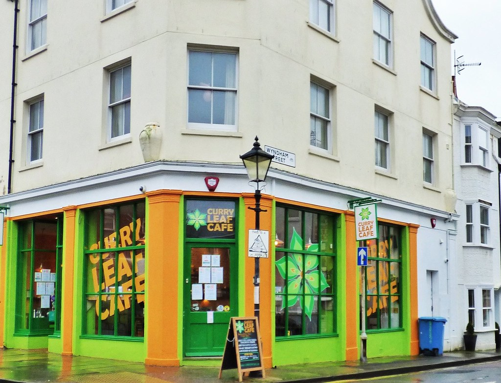 Curry Leaf Cafe In The Kemp Town Area Of Brighton