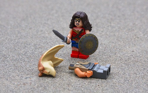 Wonder Woman Loses Her Patience