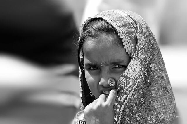 Petite fille Meghwal