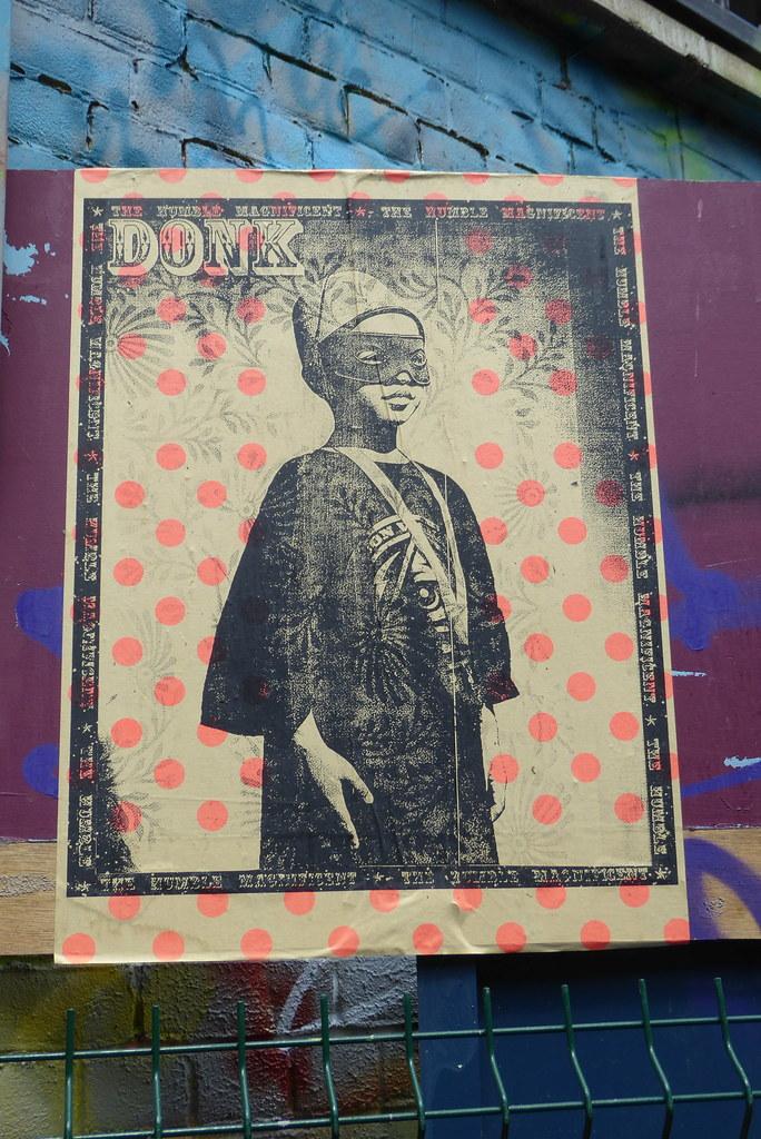 Shoreditch Gardens: Donk Street Art, Nomadic Community Gardens, Shoreditch