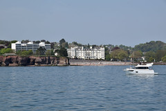 Torquay hotels from the boat
