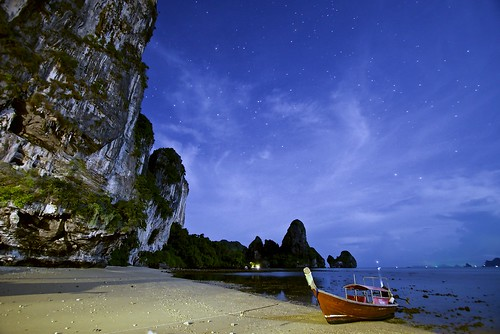 Starry Starry Night in Tonsai Beach, Krabi, Thailand | by Ryan.Kartzke