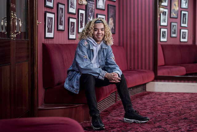 Harvey Thompson, Learning and Participation Apprentice © 2018 ROH. Photographed by Sim Canetty-Clarke